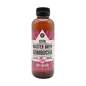KeVita Master Brew Kombucha, Tart Cherry, 15.2 oz
