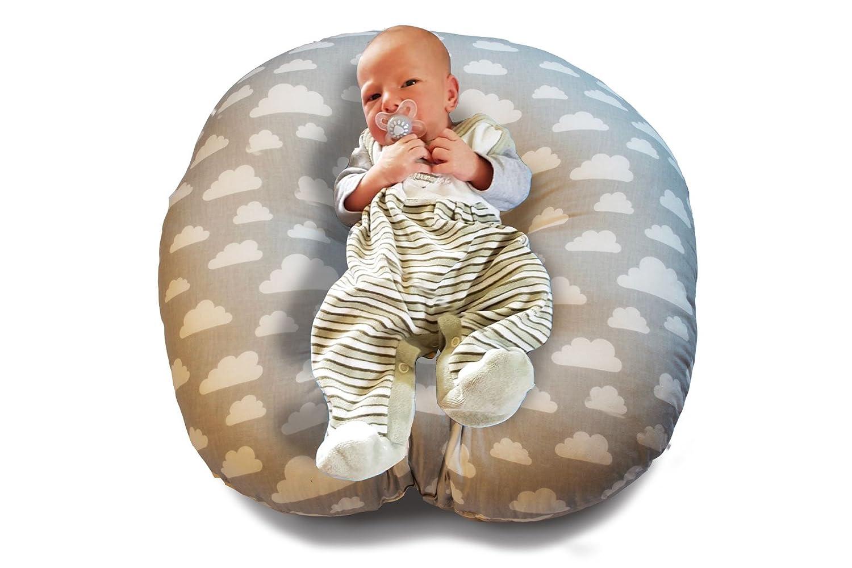 Baby Lounger Baby Rocker New Born Rocker Positioning Pillow Cot Bumper Sleep Cushion 55 x 55 Baby Cushion Baby Chair Traumreiter
