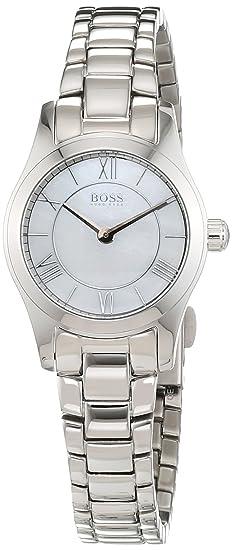 Hugo Boss - Reloj de Pulsera analógico para Mujer Cuarzo Acero Inoxidable 1502377: Amazon.es: Relojes