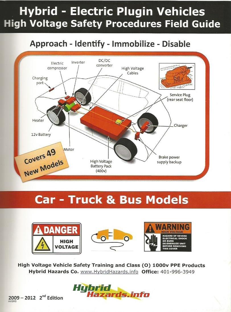Hybrid Vehicle Jump Start/Towing + High Voltage Shut Down Procedure Guides by Hybrid Hazards
