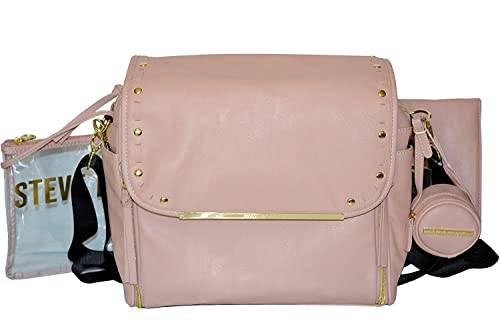 ffd1320ea9d Image Unavailable. Image not available for. Colour: Steve Madden Flap Baby  Diaper Bag Backpack ...