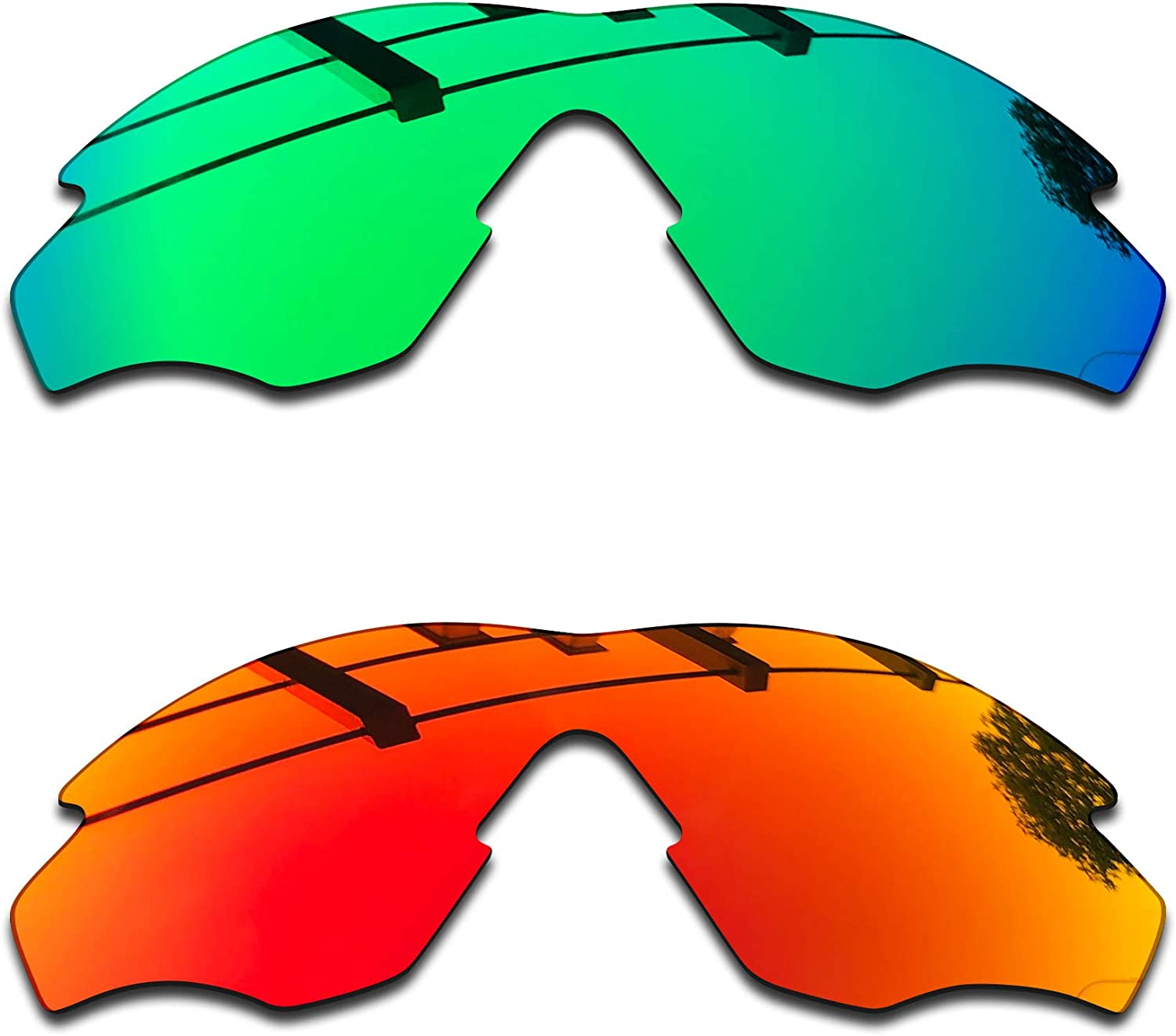 SEEABLE Premium Polarized Mirror Replacement Lenses for Oakley M2 Frame XL OO9343 Sunglasses