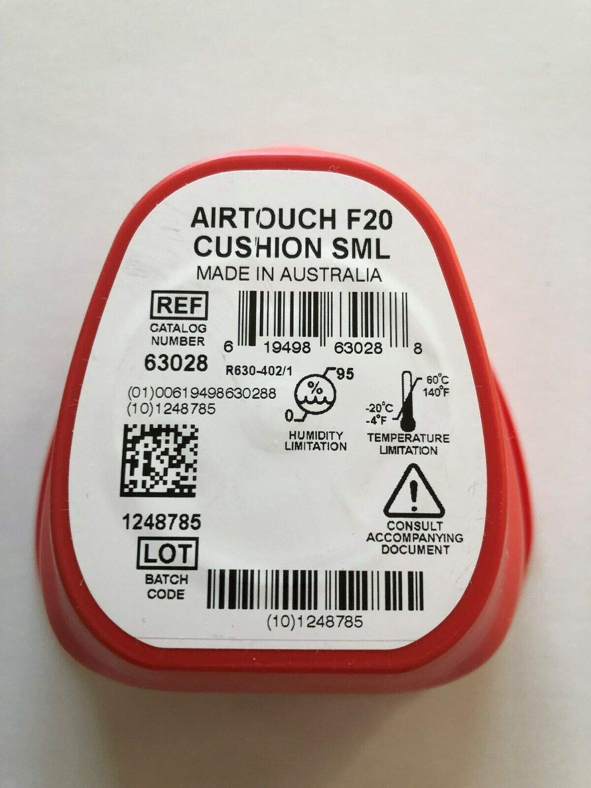 ResMed AirTouch F20 Cushion (Small)