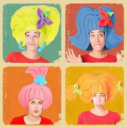 Pack 4 pelucas diferentes: Amazon.es: Handmade