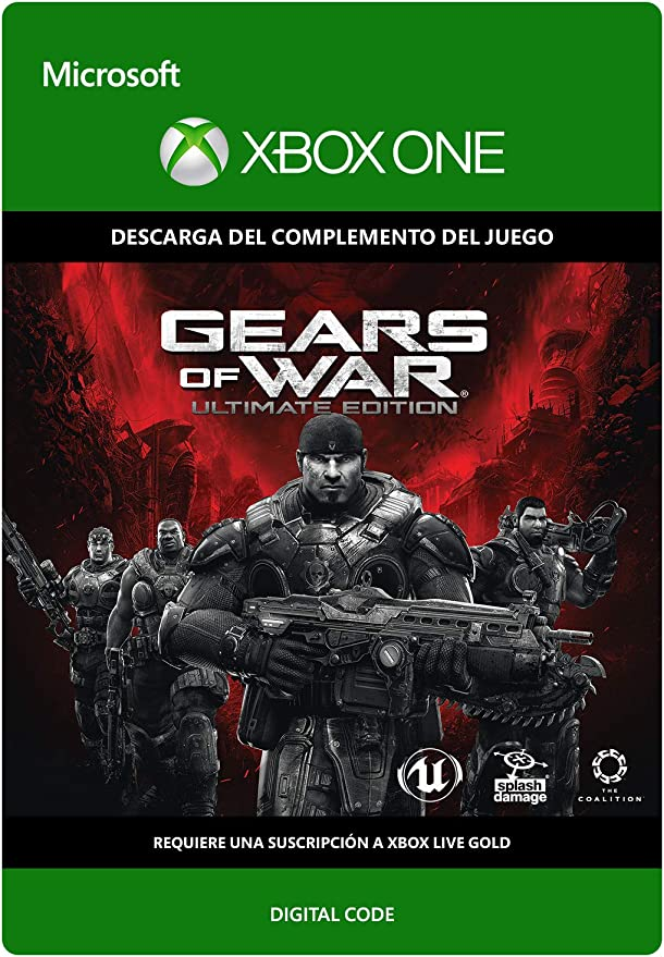 Gears of War: Ultimate Edition | Xbox One - Código de descarga: Amazon.es: Videojuegos