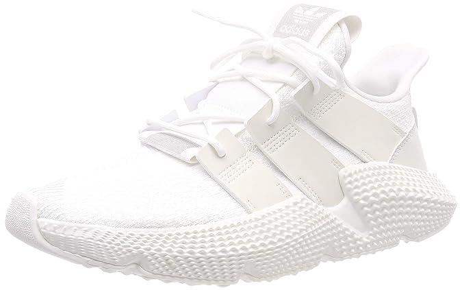 Amazon.com   adidas Mens Prophere, Footwear White/Footwear White/Crtstal White, 8 M US   Running