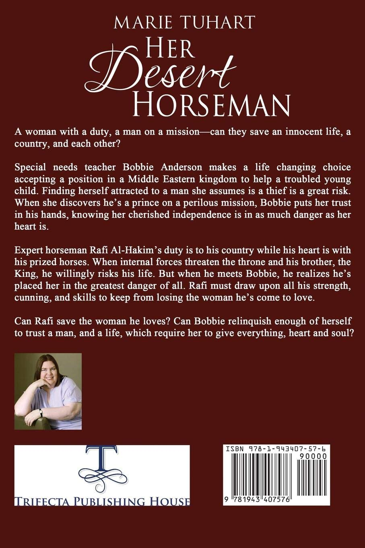 Her Desert Horseman (Desert Destiny): Marie Tuhart: 9781943407576