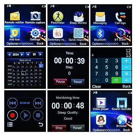 Amazon.com: Yuntab bluetooth watch 30 megapixel camera ...