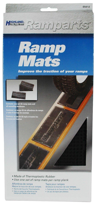 Highland Ramparts Ramp Mats Black 0561200 Set of 6 BLK:05612