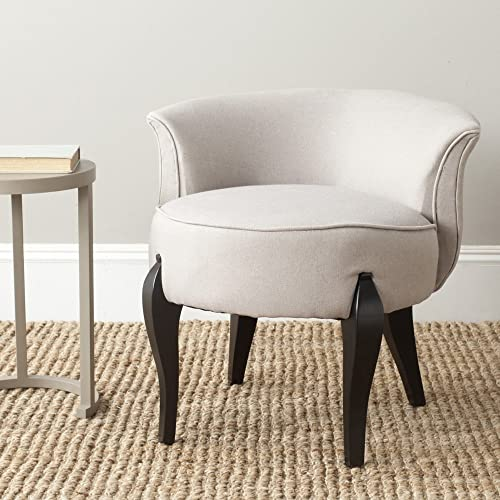 Safavieh Mercer Collection Mora Vanity Chair, Taupe