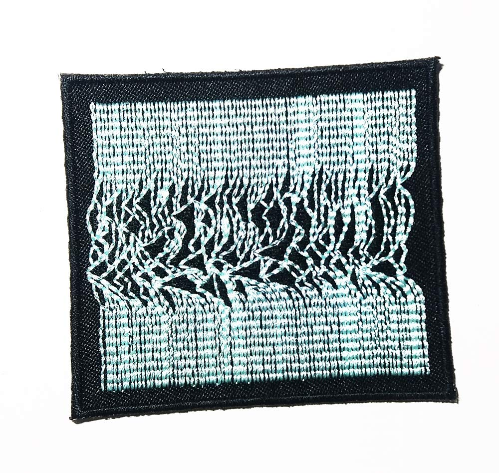 Music J Punk Rock Rock and roll Post-Punk Music Logo Patch Embroidered Sew Iron On Patches Badge Bags Hat Jeans Shoes T-Shirt Applique