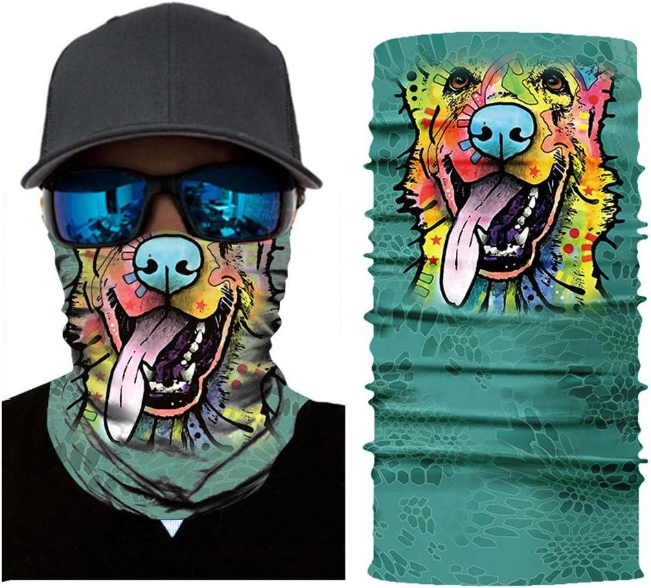 Headband for Outdoor Hiking Fishing Runing Cycling Motorcycle Bandana,Magic Scarf Balaclava Fasclot 3D Seamless Neck Gaiter Face Sun Mask Dust Windproof UV Protection