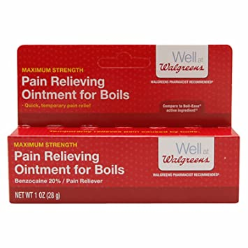 Amazon com: Walgreens Pain Relieving Ointment for Boils