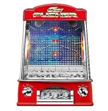 Game Qwhome Falls Arcade Máquina Fairground De Monedas Pusher DIH2E9