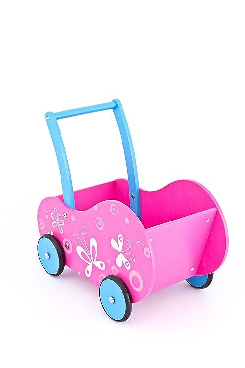 United Kids 13016-05 - Carrito para muñecos/andador de ...