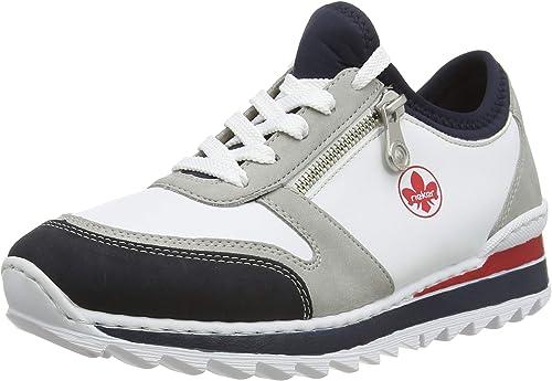 Rieker Damen FrühjahrSommer M6962 Slip On Sneaker