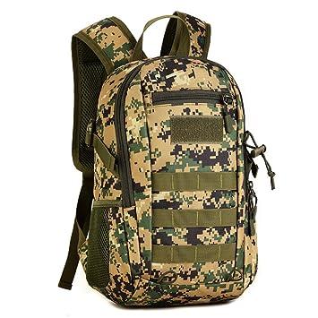 camping Mochila militar de 10 L caza senderismo viajes para estudiantes Fancybox