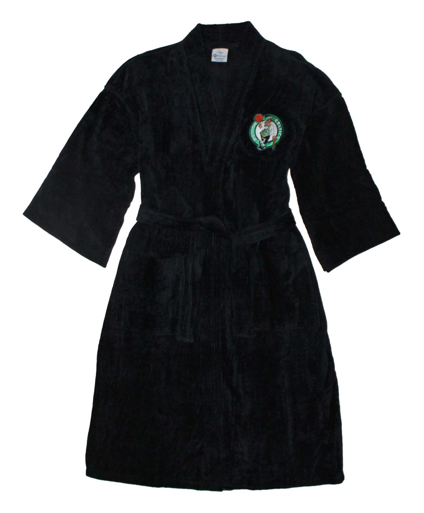 Boston Celtics Velour Robe With Embroidered Logo by McArthur