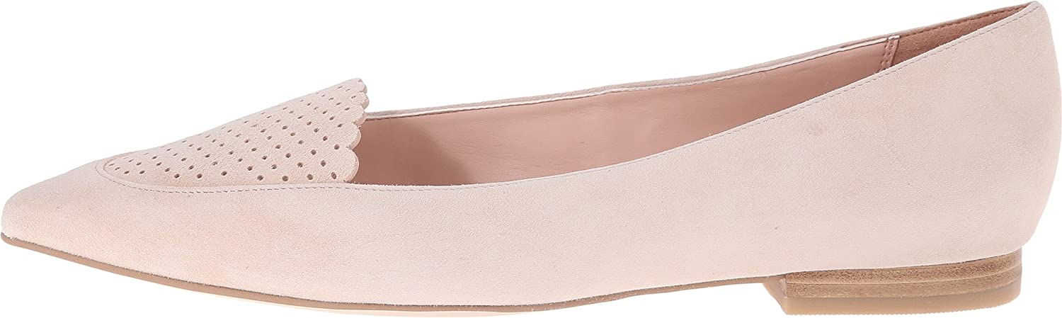 Amazon.com | Cole Haan Women's Allison Skimmer Perf Canyon Rose Flat 9.5 B  (M) | Flats