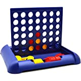 Kids 4 In A Row, Travel Board Game, Classic Family Toy ,Foldable Line up 4 Toy For Children For Fun