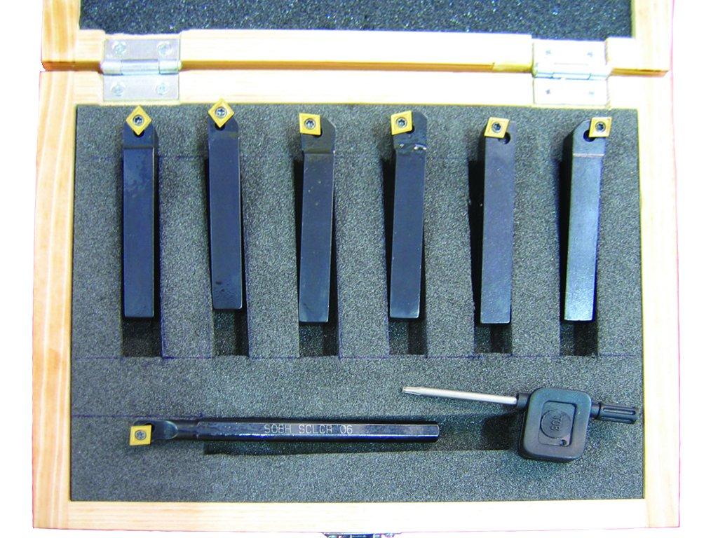HHIP 2003-0375 7 Piece 3//8 Inch Shank Mini Tool Holder Set
