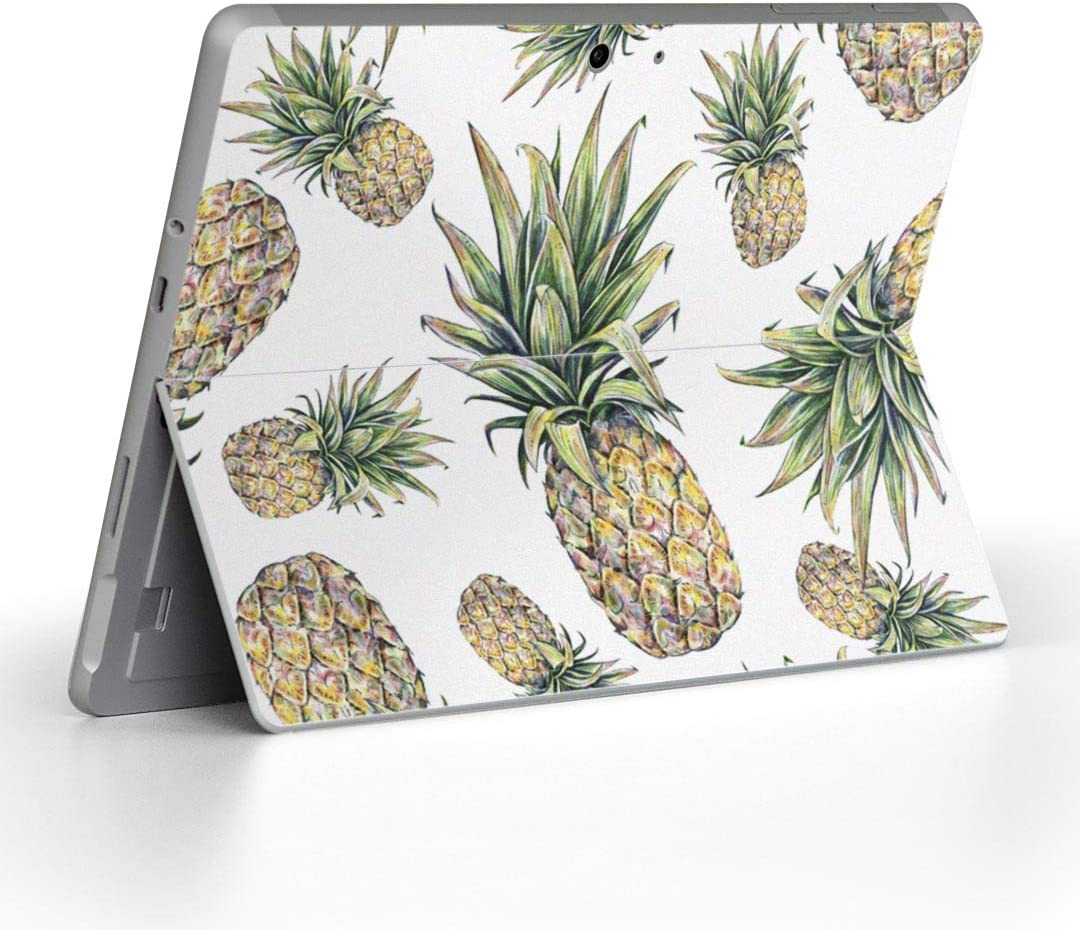 igsticker Decal Cover for Microsoft Surface Go/Go 2 Ultra Thin Protective Body Sticker Skins 012208 Pineapple Fruit Summer