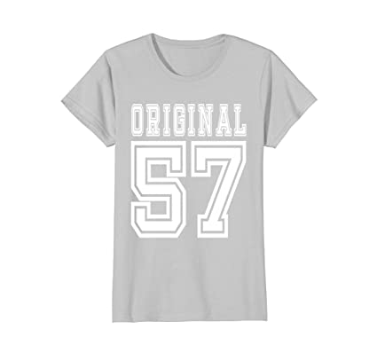 1957 T Shirt 60th Birthday Gift 60 Year Old B Day Present Female Medium