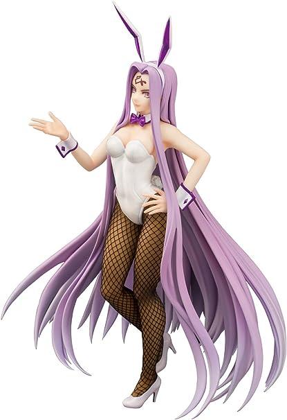Amazon Com Aoshima Fate Extella Medusa 1 8 Scale Pvc Figure 1 8 Scale Enchanting Bunny Suit Version Toys Games