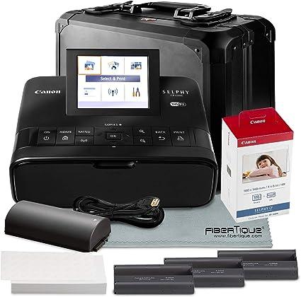 Amazon.com: Canon Selphy cp1300 Compact Photo Printer, Negro ...