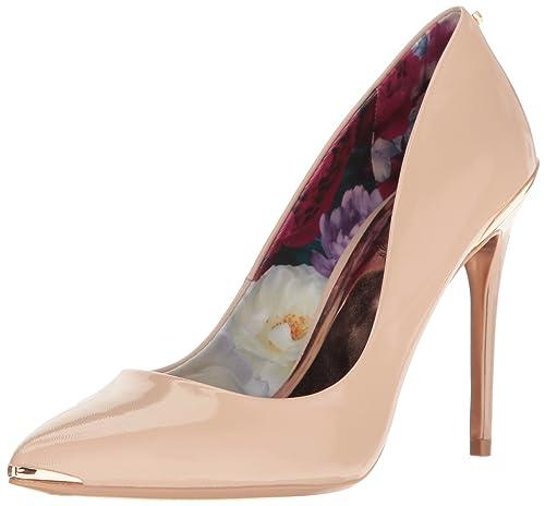 8062659b708 Ted Baker Women's Kaawa PATL AF Formal Shoe, Black/Black, 9.5 M US ...