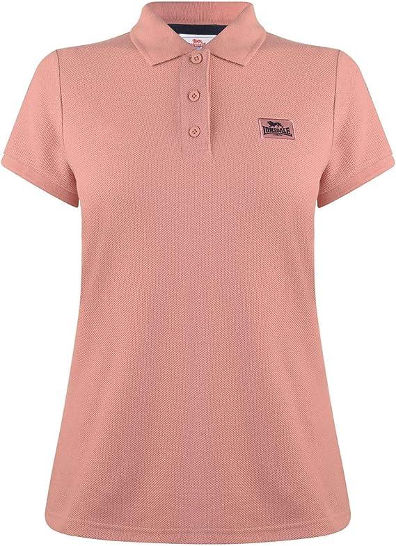 Lonsdale Mujer Camiseta Polo: Amazon.es: Ropa y accesorios