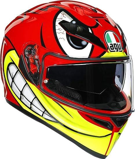 Amazon.com: AGV K3 SV Birdy - Casco de moto, S, rojo ...