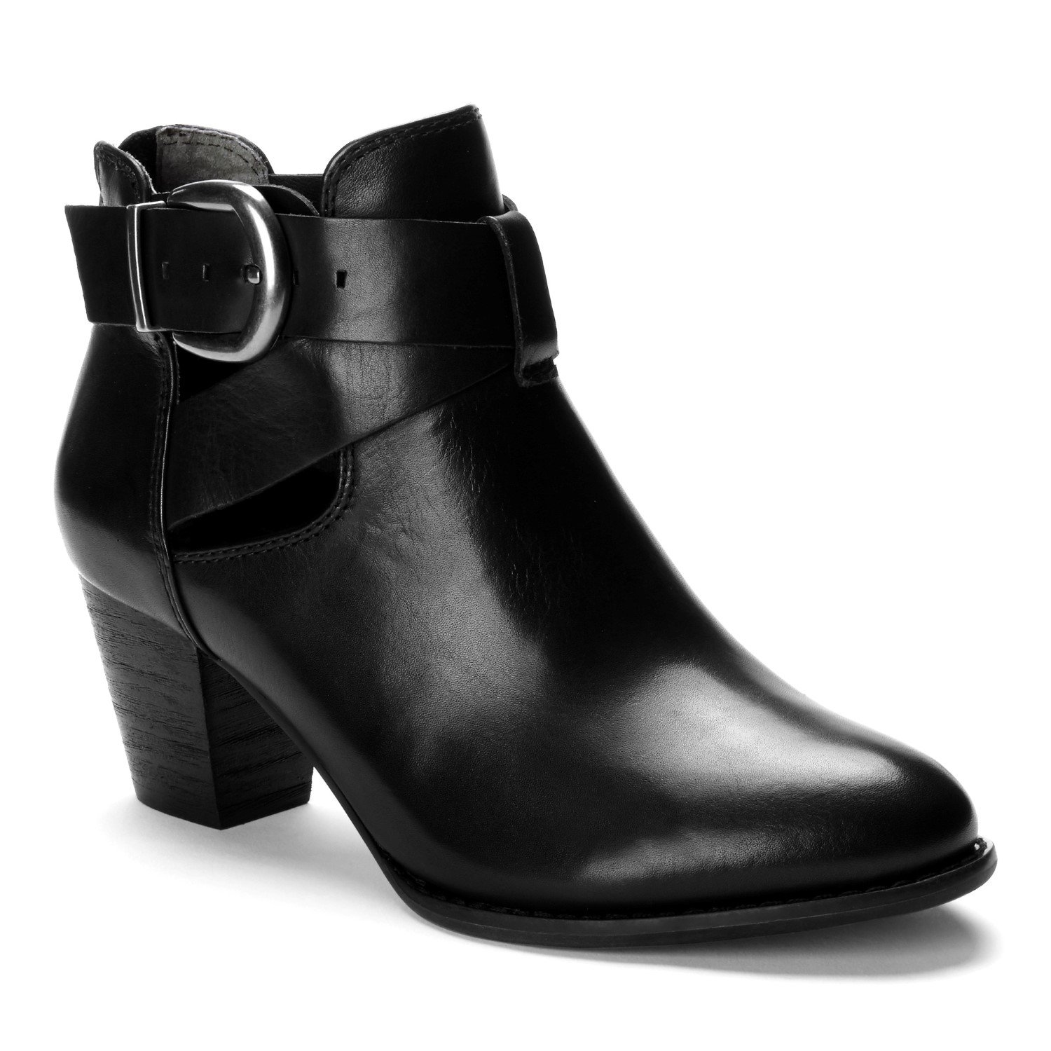 Vionic Upright Rory - Womens Heeled Boot Black - 8 Wide