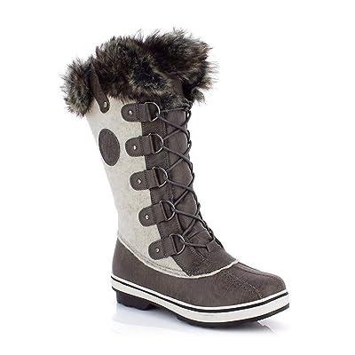 Kimberfeel Dawson Men's Snow Boot, Grey, 46: Sports & Outdoors