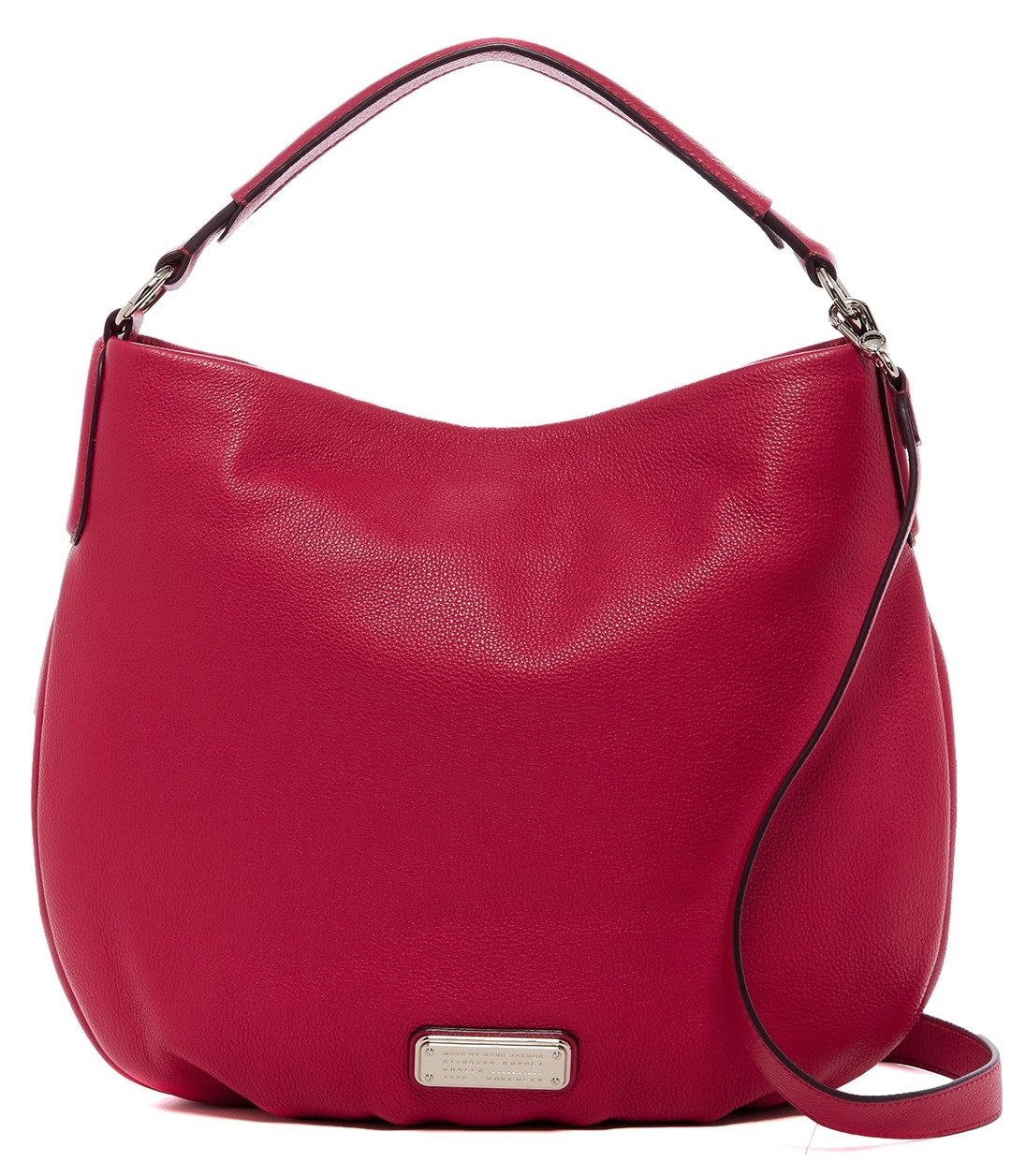 Marc by Marc Jacobs New Q Hillier Convertible Hobo (Peony)