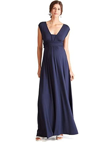 e3cd1b4b Ingrid & Isabel Women's Maternity Empire Maxi Dress