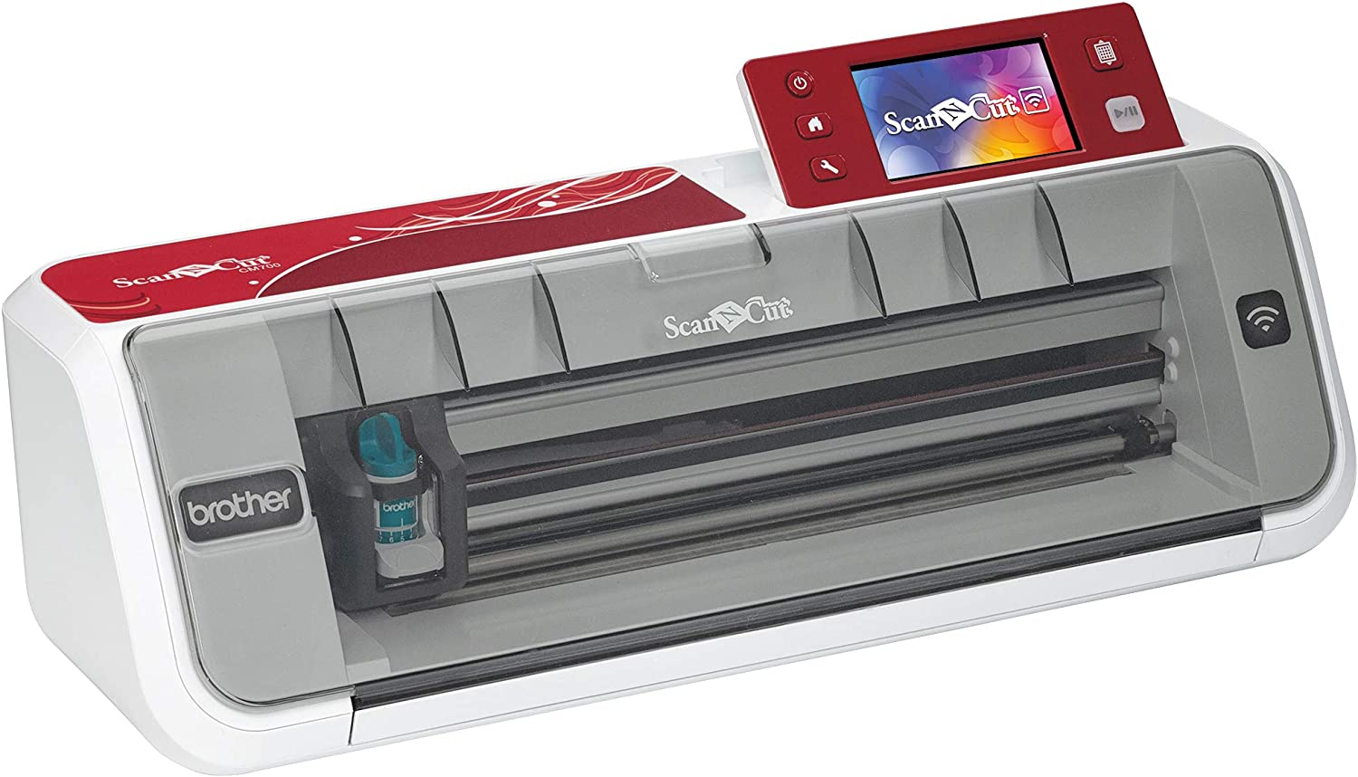 Brother Plotter de Corte Scanncut, Blanco: Amazon.es: Hogar