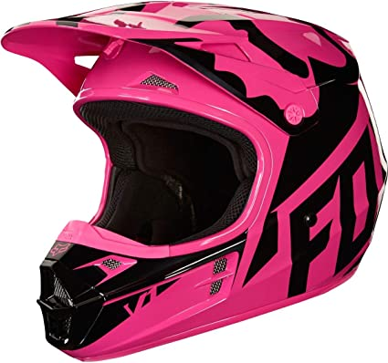 2018 Fox Racing Womens V1 Race Helmet Womens MX Motocross Dirtbike ATV Offroad