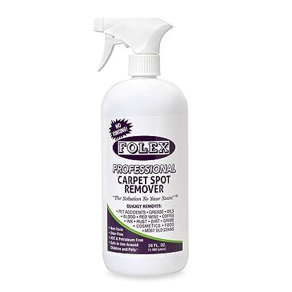 Amazon.com: Folex Professional 34 oz. Carpet Spot Remover | Made in USA | Non-toxic by Product Folex (1) (34, 1): Home & Kitchen