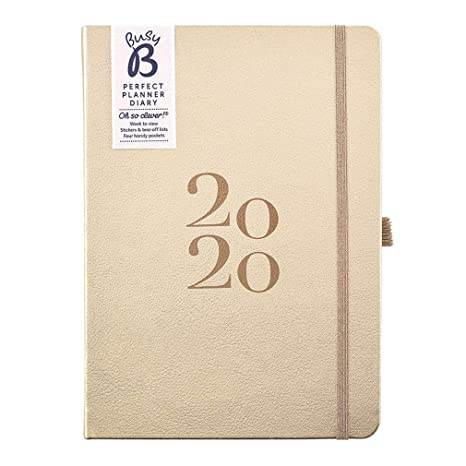 Amazon.com: Busy B 2020 Perfect Planner Diary - A5 Planner ...