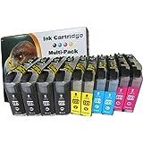 10 komp. XL Druckerpatronen für Brother MFC-J480DW MFC-J4625DW Brother MFC-J680DW Brother DCP-J562DW LC223 LC225 LC227