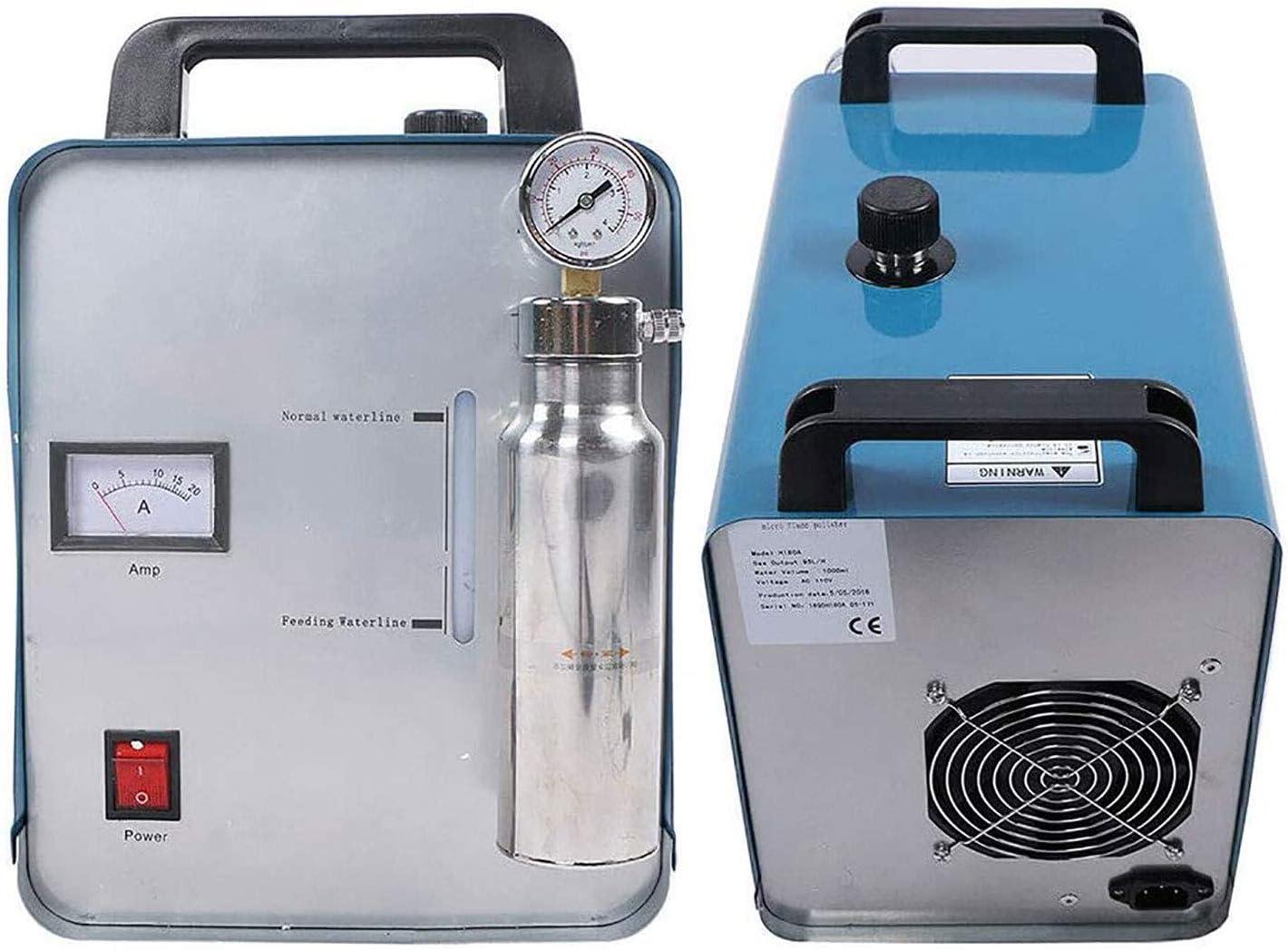 Llama la máquina pulidora de acrílico, joyería que hace Oxígeno Hidrógeno Agua Soldador H180 95L