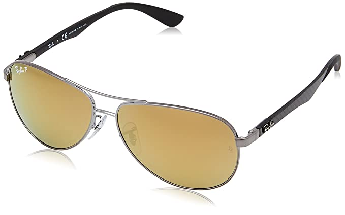 6e2cb776a4 Image Unavailable. Image not available for. Colour  Ray-Ban Men s Polarized Sunglasses  RB8313 ...