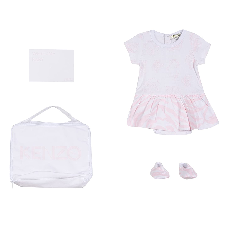 Amazon.com  KENZO Baby Girl Accessory Set with Dress  Clothing 7656c8f9c57e