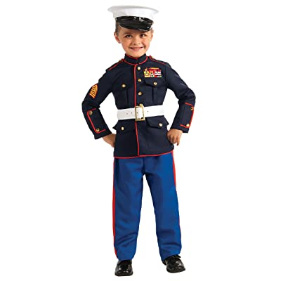 Rubie's Young Heroes Child's Dress Blues Costume, Medium: Toys & Games