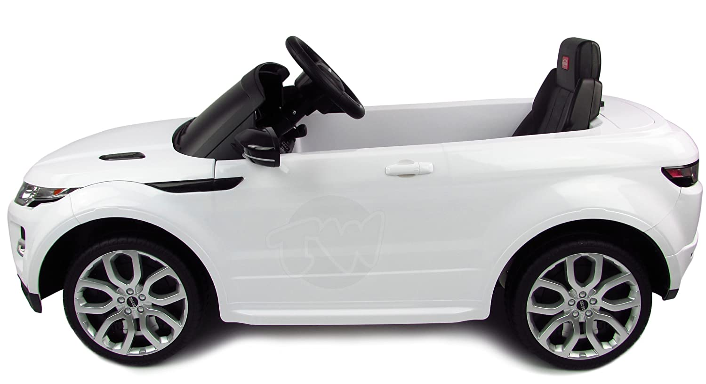 Range Rover Kids Electric Car White Amazon Co Uk Toys Games