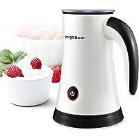 Aigostar MissPuff 30KDF Elektrischer Milchaufschäumer, 3 Modi Kalt-/Warmschaum und Aufwärmen, 450 W, 200 ml, Aufwärmen und Aufschäumen für Kaffee, Cappuccino, Milch BPA-frei. Exklusives Design