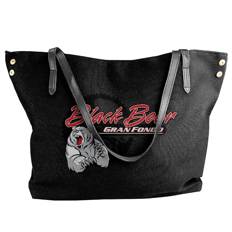 CHRIS Black Bear Women's Exclusive Canvas Bag