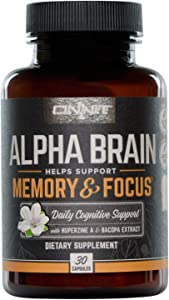 ONNIT Alpha Brain (30ct) - Over 1 Million Bottles Sold -...