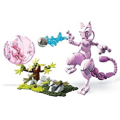 Mega Construx Pokemon Figuras Mew vs. Mewtwo Clash, Juguetes de Construcción Niños +6 Años (Mattel FVK77): Juguetes y juegos